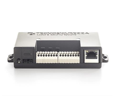 Netzwerk Interface Tresorschloss Techmaster