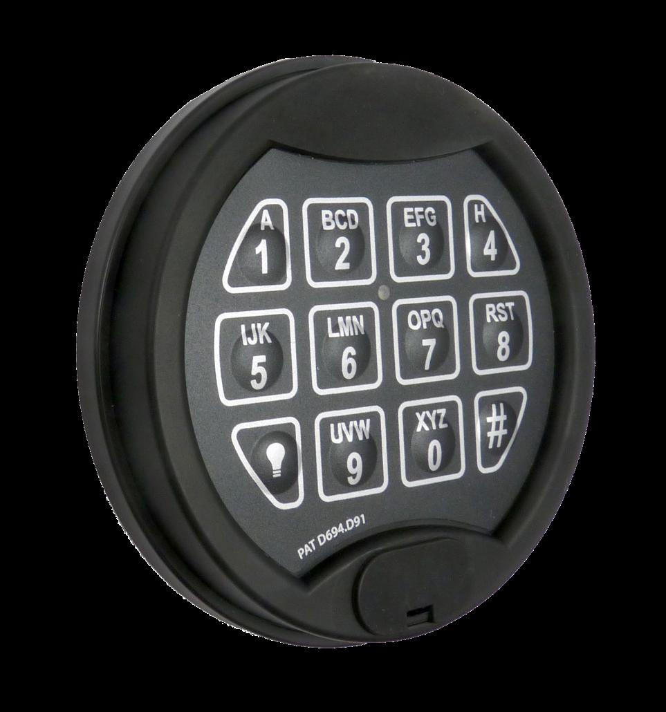 Premier-Flat Entry Unit for Safe Locks - Lock4Safe
